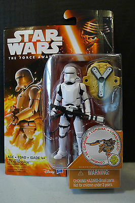 Star Wars - The Force Awakens - First Order Flametrooper Figure - Sealed!