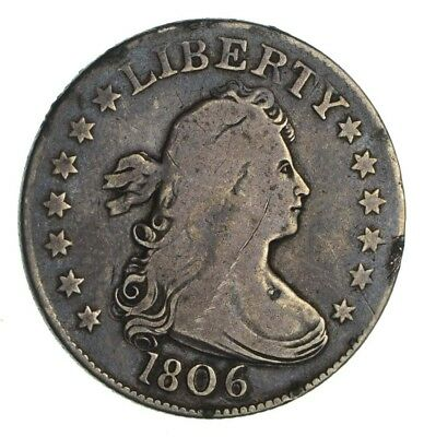 1806 Draped Bust Quarter - Circulated *1244