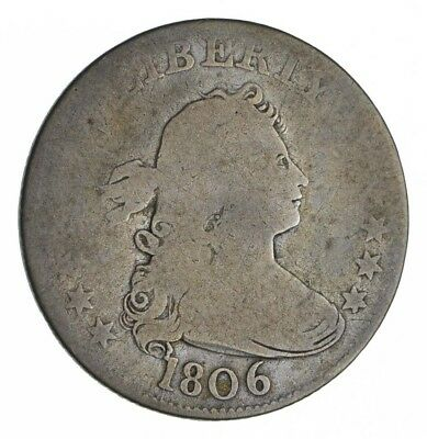1806 Draped Bust Quarter - Circulated *1319