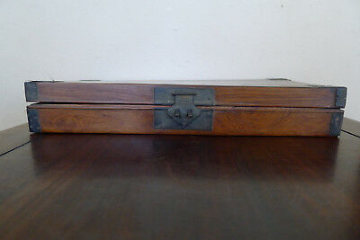 Beautiful and rare old Chinese huanghuali document box