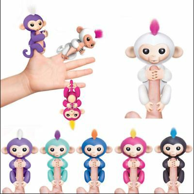 Children Cute Finger Toy  Monkey Electronic Interactive Toy Robot Pet Kids Gift