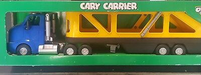 Collectible Chevron Cars Cary Carrier In Original Box