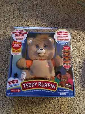 2017 Teddy Ruxpin EXCLUSIVE TARGET Storytelling 14 In Plush LCD Eyes NEW Hot Toy