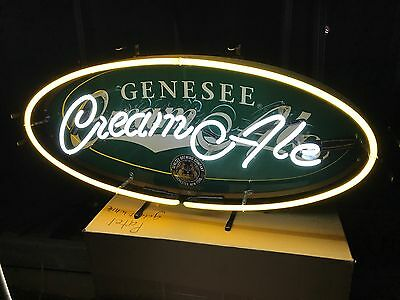 Genesee Cream Ale neon light sign new condition pick up only