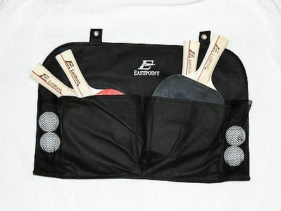 EastPoint Sports 4 Player Paddle and Ball Set with Organizer Ping Pong Racket