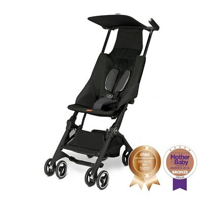NEW GB Pockit Stroller - Satin Black