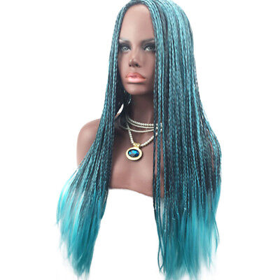 For Women Descendants 2 Uma Cosplay Wig Braided Synthetic Fashion Costume Wigs