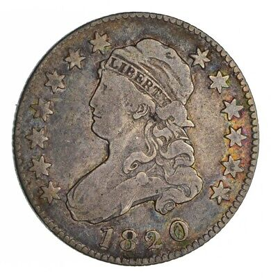 1820 Capped Bust Quarter - Circulated *1336