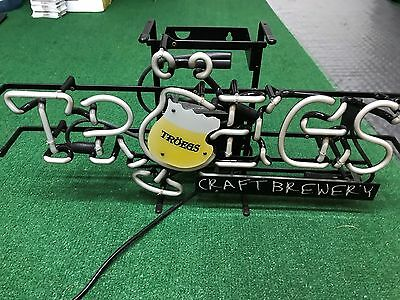 Troegs beer craft Brewery neon light sign good condition pick up only