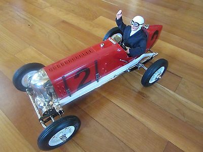 1920's Miller Indy 500 race car Gilbow wind up tether car type non-Gas key 20 in