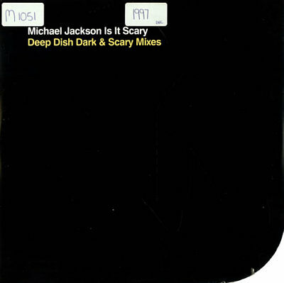 "Is It Scary - Deep... Michael Jackson UK 12""  record (Maxi) promo"