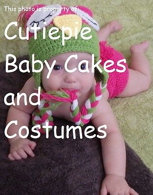 Hand-finished Owl Baby Crochet Costume Photography Prop Great Baby Gift