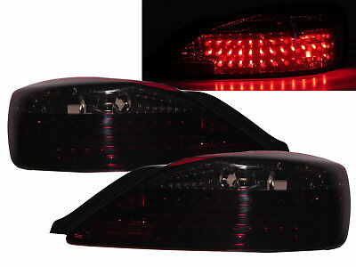 SILVIA S15 200SX 1999-2002 2D LED Tail Rear Light Red/Smoke for NISSAN