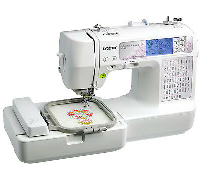 Brother SE400 Computerized Sewing and Embroidery Machine SE-400