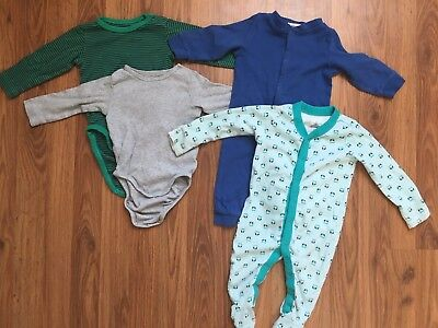Baby Boy Lot 3-9 Months - Long Sleeve -H&M, Old Navy