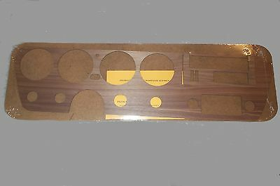 67 GTO A/C REAL WOOD DASH (Assembly)