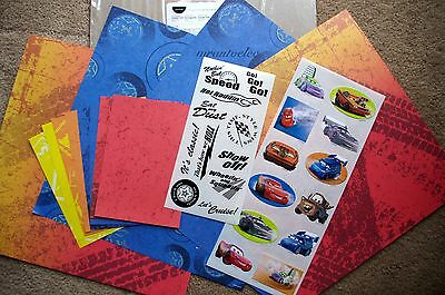 Creative Memories 12x12 Disney Pixar Cruisin' Cars Additions Kit McQueen Matar
