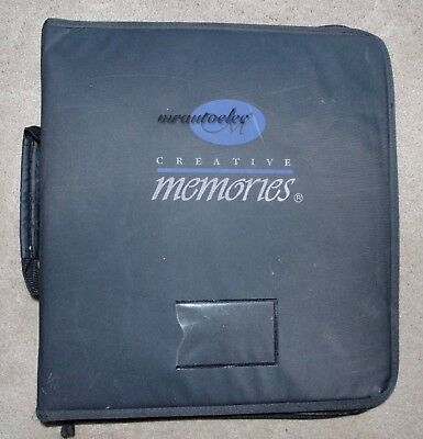 Creative Memories Accessory Binder plus 6 storage folders Used