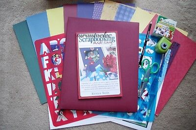 Scrapbooking Made Easy Kit by Kirsten Butts - everything you need to start