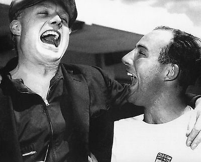 Mike Hawthorn & Stirling Moss 10X8 Photo (1)