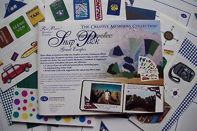 Creative Memories Great Escapes Snap Pack Holiday Getaway Camping Vacation