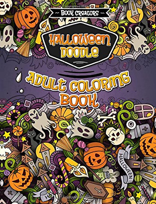 Halloween Colouring Book for Adults: 30 High Quality Spooky Designs - Paperback