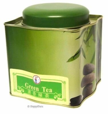 """GREEN TEA TIN"" CHINESE HERBAL ANTI-OXIDANT LOOSE LEAF TEA 170gm"
