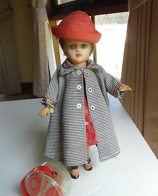 Vintage Ideal Little Miss Revlon doll All original clothes and extras.