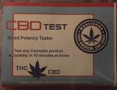 CBD Home Test Kit TEST YOUR BUD @Home! 4 Tests To Each Kit!!! Get Yours Now!