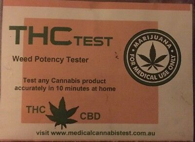THC Home Test Kit TEST YOUR BUD @Home! 4 Tests To Each Kit!!! Get Yours Now!