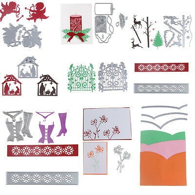 29style Xmas Metal Cutting Dies Stencil Scrapbook Paper Card Embossing DIY Decor