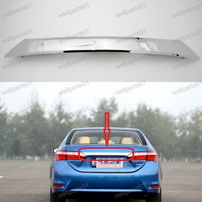 Chrome Rear Trunk Handle Molding Cover Trim 76801-02E70 For Toyota Corolla 2014