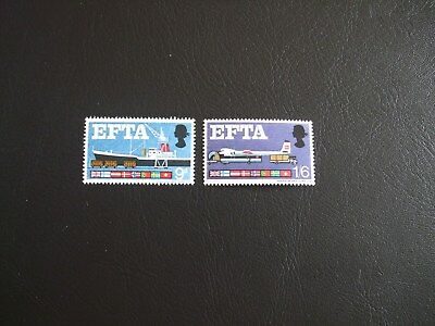 EFTA Great Britain 1967 Commemorative Stamps