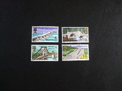British Bridges Great Britain 1968 Commemorative Stamps
