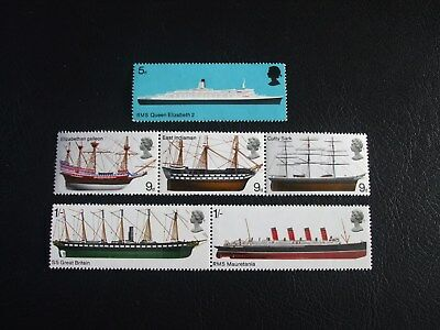 British Ships Great Britain 1969 Commemorative Stamps