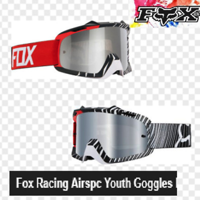 FOX YOUTH AIRSPC MOTOCROSS GOGGLES  NEW!  Kids Motorcross Dirt bike MX BMX