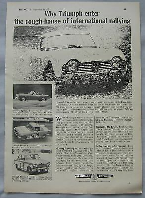 1963 Triumph Original advert No.2