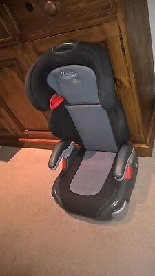 Graco High Back Booster Car Seat with 2 cupholders