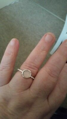 mood colour change silver ring
