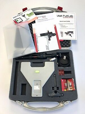NEUWERTIG - Golf Training / Analyse System - SAM PuttLab Wireless - VK 5.295€