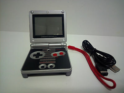 Nintendo Gameboy Advance Sp Nes Classic Edition Mod Lcd Ags-001