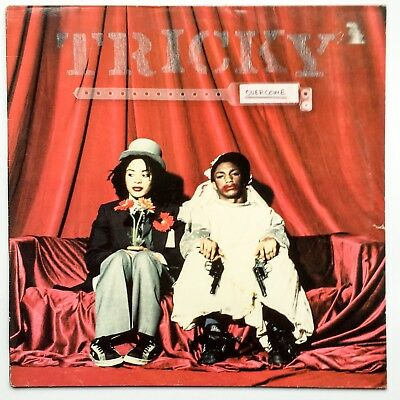 "Tricky ‎– Overcome (12"") Massive Attack/ James Blake/ Trip Hop"