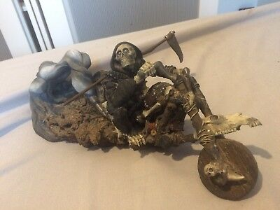 clare craft Dw 44 Discworld Death On A Motorbike  RARE