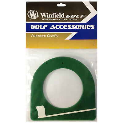 Winfield Golf Premium Quality Putting Cup And Flag Practice Training Aid Green