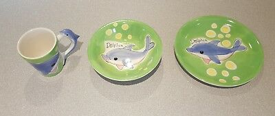 Dolphin Dinner Set - Children's Dining Set - Kids Crockery