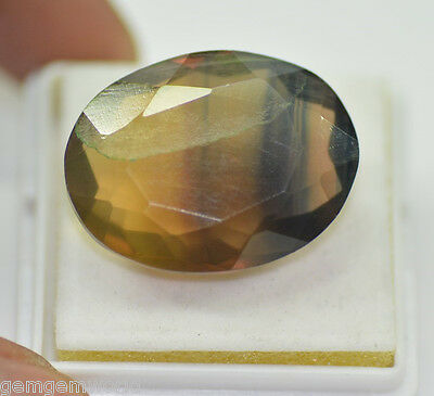 Awesome 51.15 Ct Natural Oval Shape Rainbow Fluorite Loose Gemstone~F42