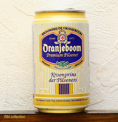 Oranjeboom 1993 beer can empty
