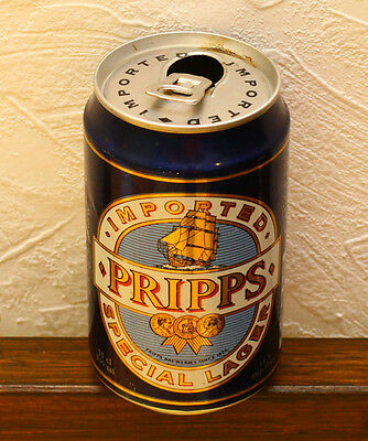 Pripps 1993 Swedish beer can empty