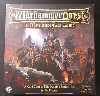 Warhammer Quest ACG + Trollslayer + Witch Hunter Expansions (English) (Sleeved)