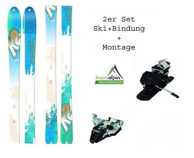 K2 TalkBack 88 17/18 freeride- and Touring Skis + Dynafit Radical Piece